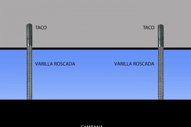INSTALACIÓN CAMPANA TECHO